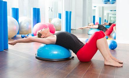 Clases de Bosu - Essential Pilates Tomelloso